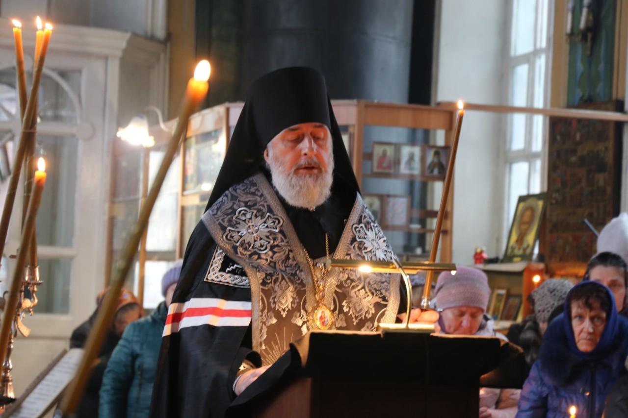 Великое повечерие. г. Шадринск 12.03.2019 г.