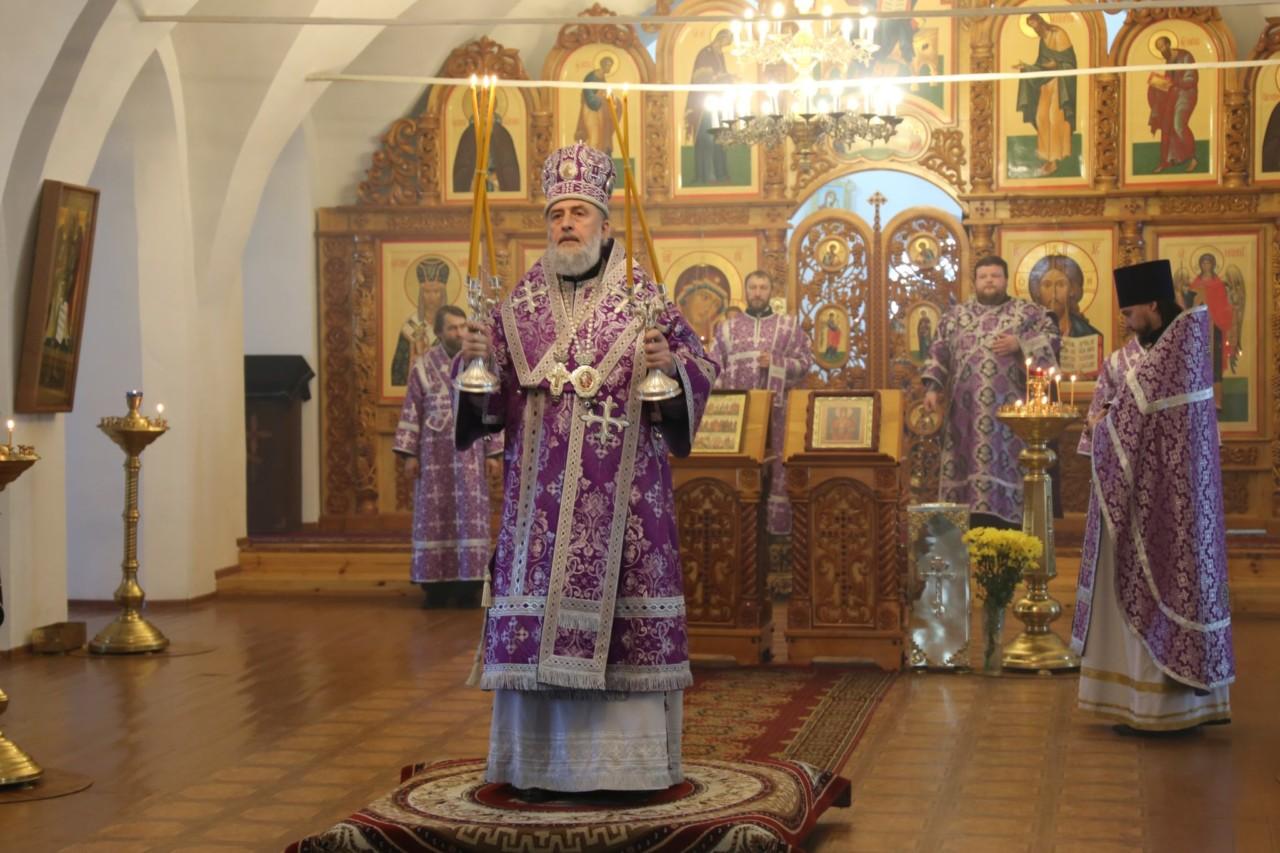 Божественная литургия. Шадринск 16.03.2019 г.