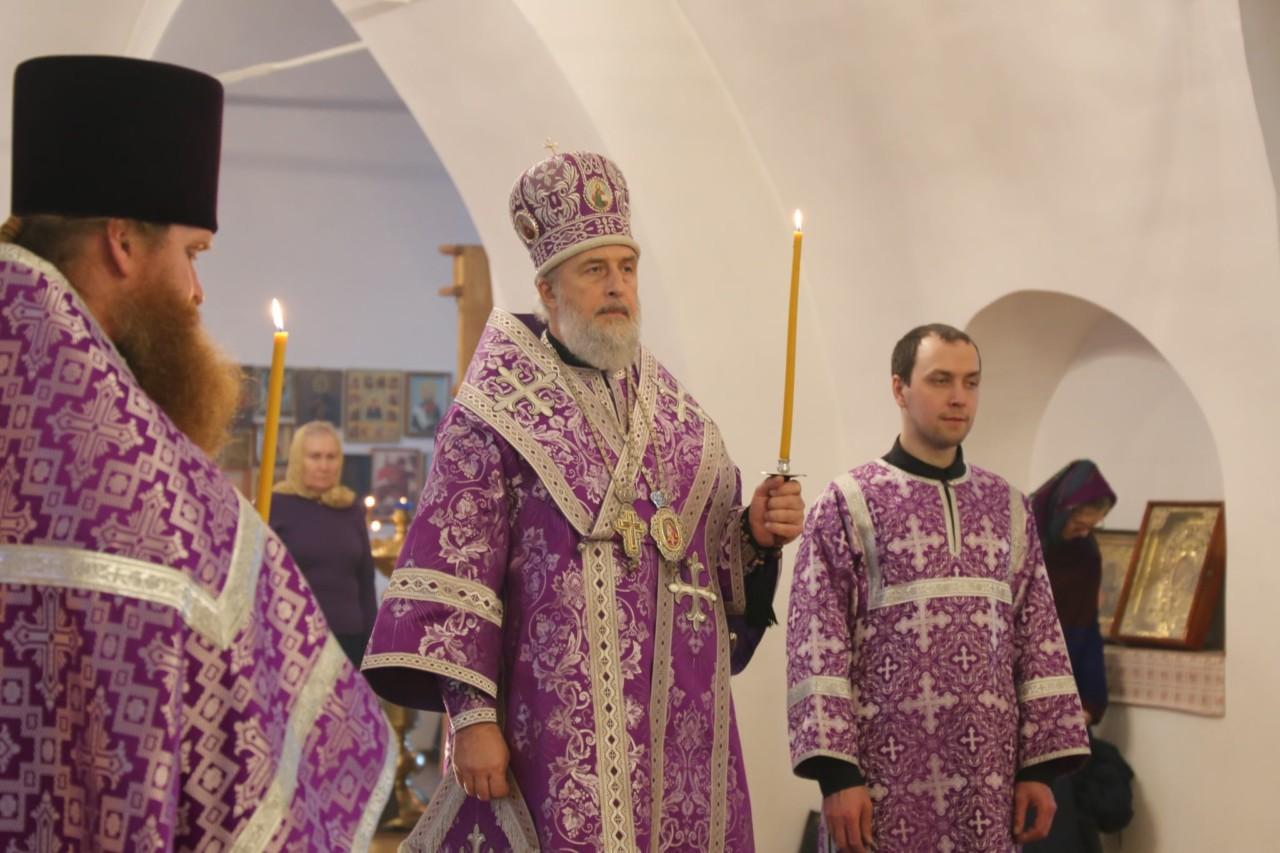 Всенощное бдение. г. Шадринск 23.03.2019 г.