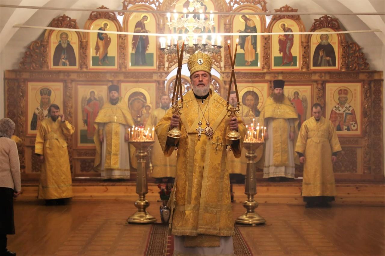 Божественная литургия. Шадринск 03.03.2019 г.