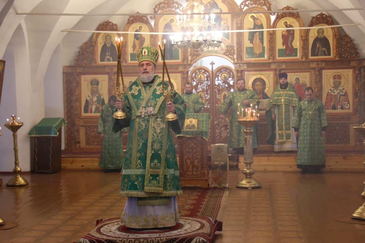 Божественная литургия. Шадринск 07.03.2019 г.