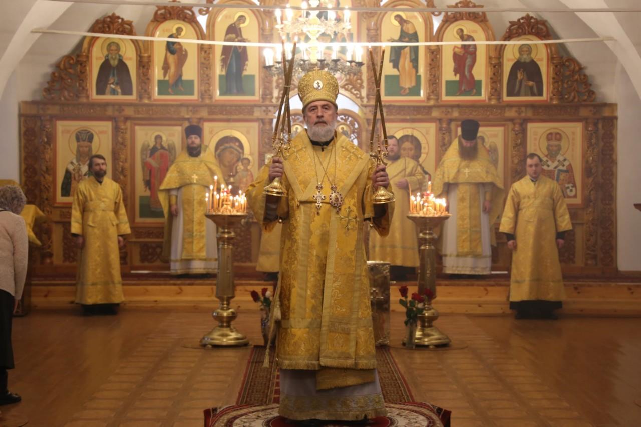 Божественная литургия. Шадринск 10.03.2019 г.