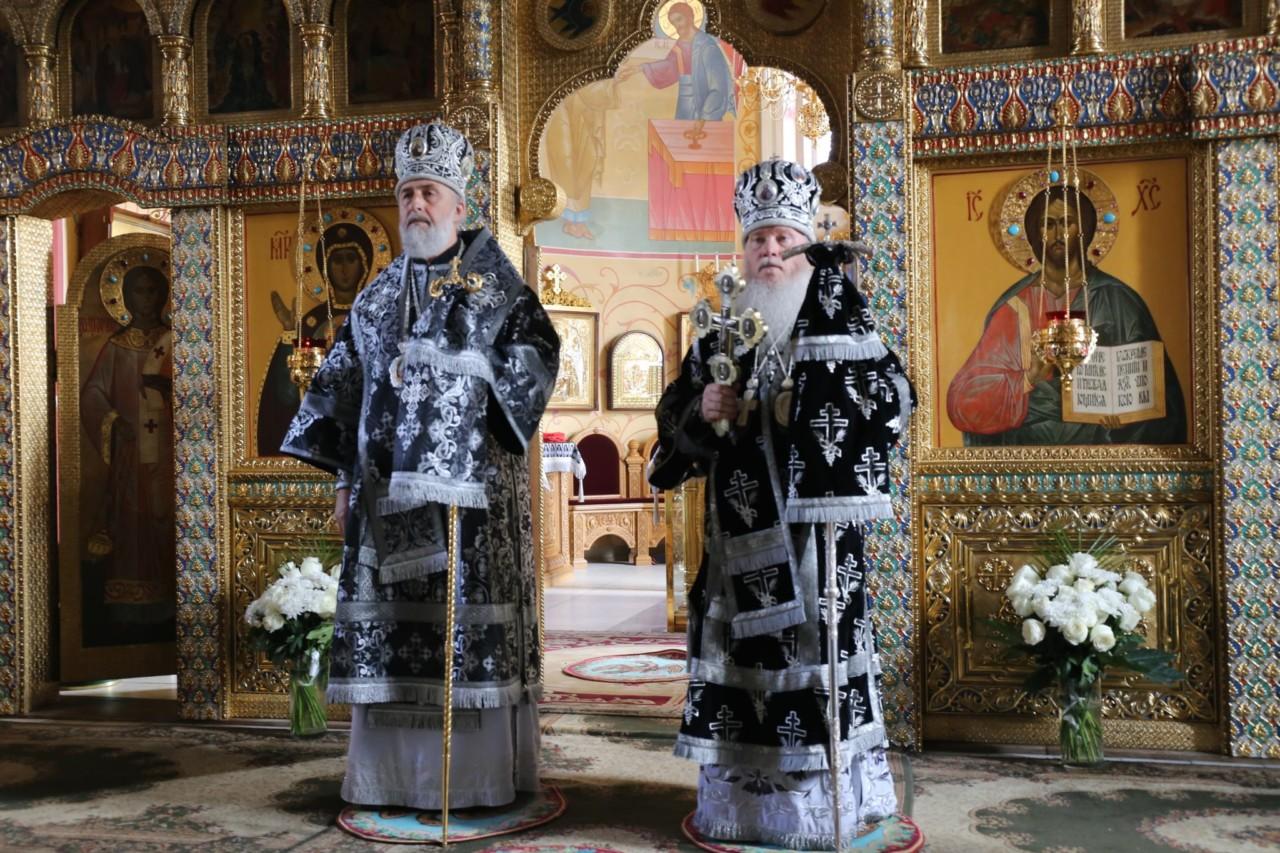 В понедельник Страстной седмицы, митрополит Курганский и Белозерский Иосиф отметил день своего тезоименитства 22 апреля 2019 г.