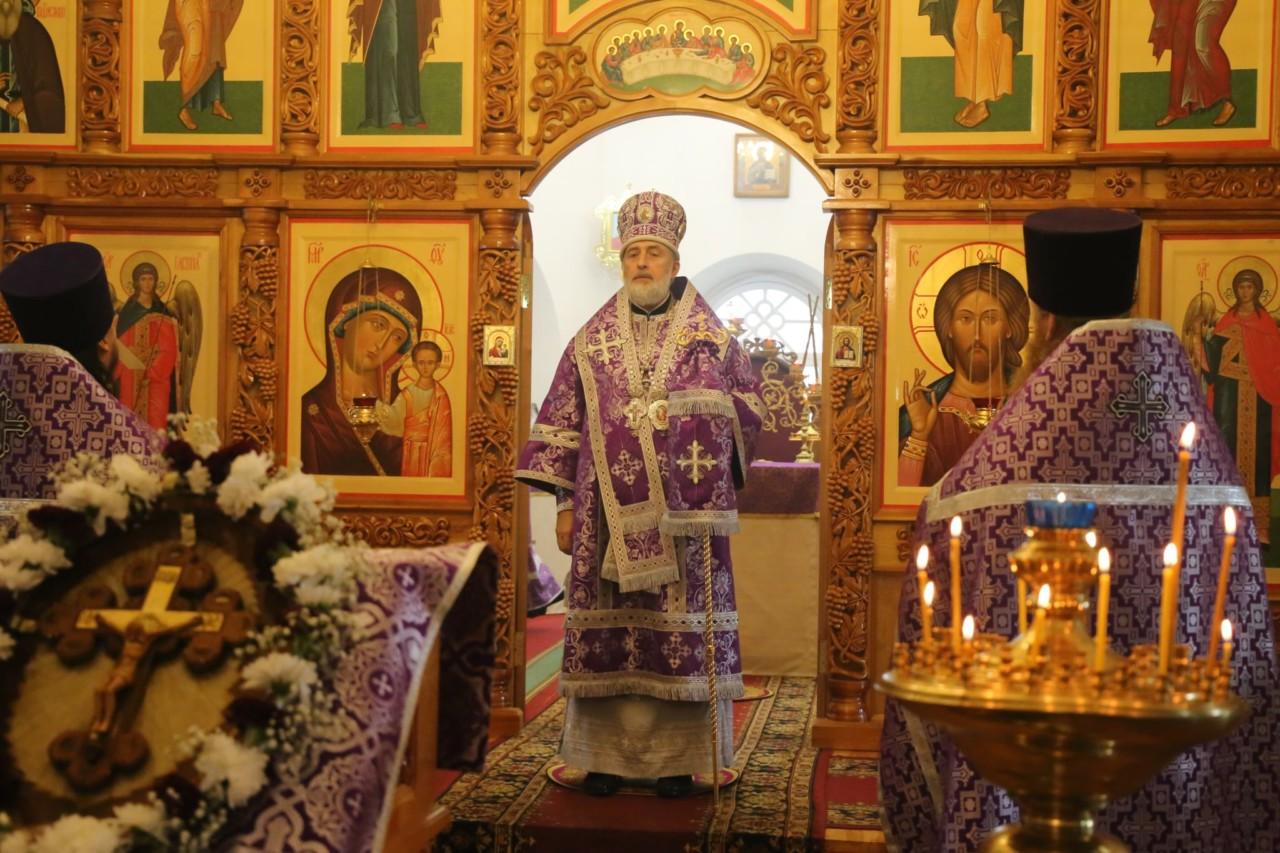 Божественная литургия. г. Шадринск 27.09.2019 г.