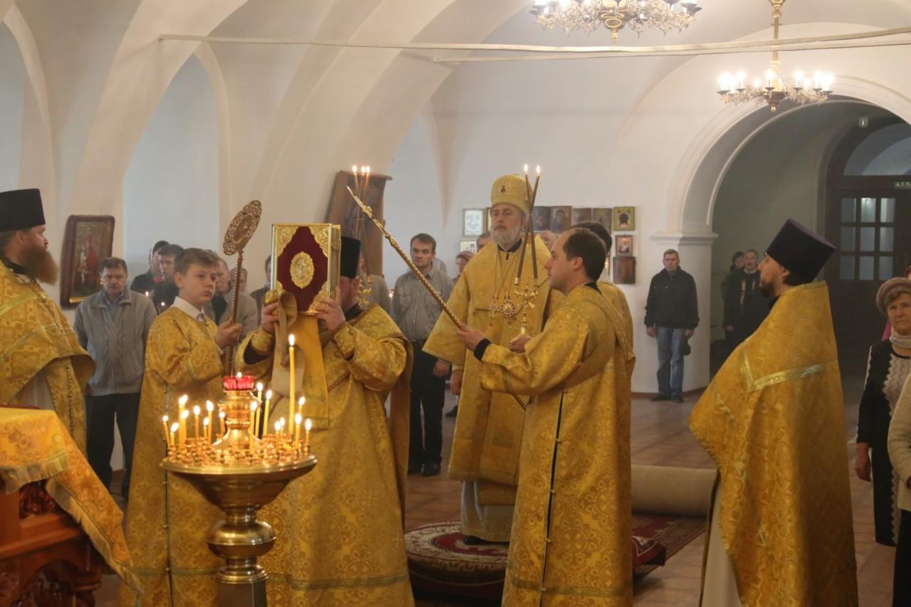 Божественная литургия. г. Шадринск 6.10.2019 г.