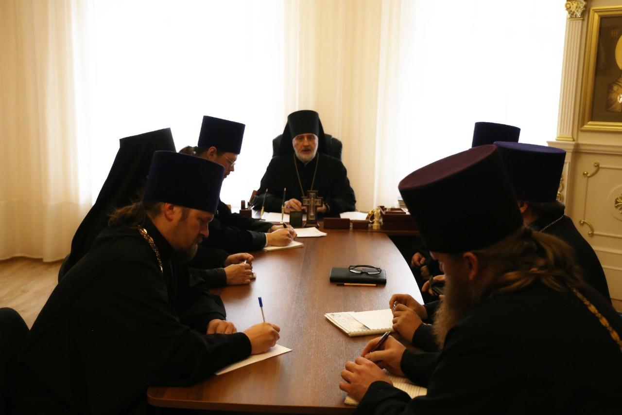 12 ноября 2019 года, в Шадринской епархии состоялся Епархиальный совет.