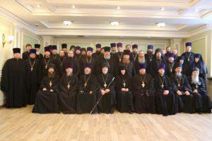 Под председательством епископа Шадринского и Далматовского Владимира состоялось годовое Епархиальное собрание. 24.12.2019г.