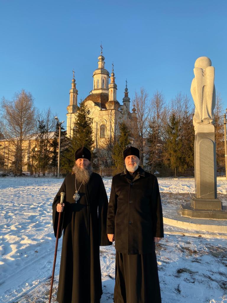 Митрополит Курганский и Белозерский Даниил посетил с рабочим визитом Шадринскую епархию. 03.12.2019 г.