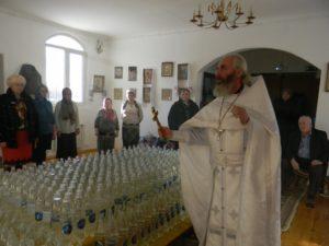 Праздник Крещения Господня в Вознесенском храме села Ключи Шадринского района