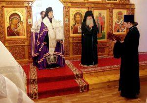 Поздравление клириков Шадринской епархии епископу Владимиру по случаю 55-летия со дня рождения