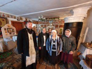В праздник Крещения Господня протоиерей Алексей Новоселов посетил отдаленные села Шумихинского благочиния