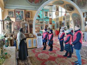 Волонтеры-медики посетили храм в честь Богоявления Господня села Усть-Миасское Каргапольского района