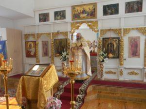 Праздник Сретения Господня в Вознесенском храме села Ключи Шадринского района