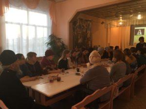 Протоиерей Александр Тимушев встретился с родителями воспитанников воскресной школы