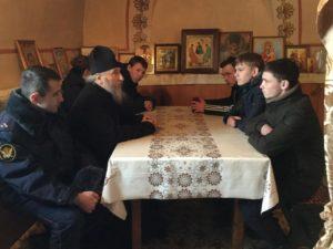 Протоиерей Александр Тимушев провел беседу с несовершеннолетними условно-осужденными