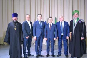 Иерей Александр Антонов поздравил со вступлением в должность вновь избранного Главу Сафакулевского района