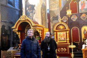 Успенский Далматовский мужской монастырь посетил главный хранитель Свердловского областного краеведческого музея