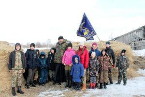 Юные казаки пикета «Русь молодая» приняли участие в военно-спортивных играх