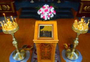 В Далматовском монастыре состоялось празднование в честь чудотворного Далматского образа Успения Божией Матери