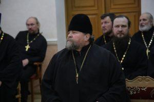 Руководитель Отдела по взаимодействию с Вооруженными силами и правоохранительными органами протоиерей Алексий Фасола принял участие в традиционном сборе штатного духовенства Центрального военного округа