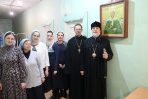 Епископ Шадринский и Далматовский Владимир посетил Центр помощи материнству и детству в честь блаженной Матроны Московской «Дар»
