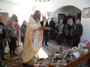 В Вознесенском храме села Ключи освятили семена для посева