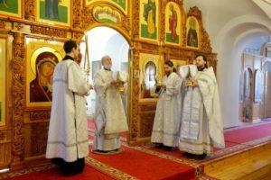 Божественная литургия г. Шадринск. 22.02.2020 г.