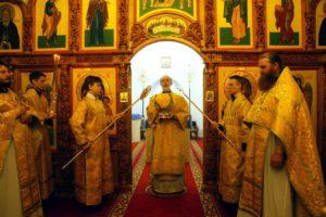 Божественная литургия г. Шадринск. 16.02.2020 г.