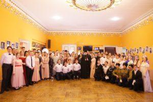 Епископ Владимир приветствовал участников и гостей Сретенского бала православной молодежи Шадринской епархии