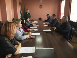 Протоиерей Александр Тимушев принял участие в заседании  комиссии по формированию районной общественной палаты