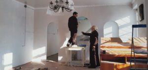 В храме Покрова Пресвятой Богородицы г. Шумихи продолжаются ремонто-восстановительные работы