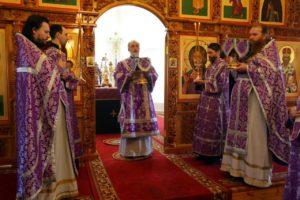 Божественная литургия г. Шадринск. 29.03.2020 г.