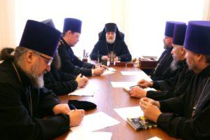 Епископ Владимир возглавил совещание с участием благочинных церковных округов Шадринской епархии