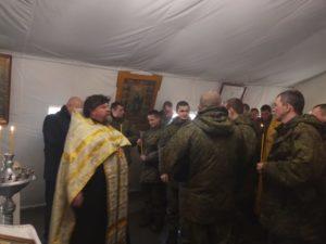 Руководитель Отдела по взаимодействию с Вооруженными силами и правоохранительными органами протоиерей Алексий Фасола присутствовал на учениях в городе Чебаркуле