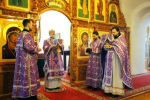 Божественная литургия г. Шадринск. 07.03.2020 г.