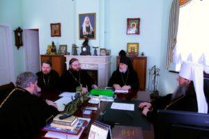 Управляющий Шадринской епархией принял участие в заседании Архиерейского совета Курганской митрополии