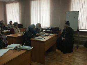 Протоиерей Александр Тимушев рассказал слушателям Православного факультета о священнослужителях, участвовавших в Великой Отечественной войне