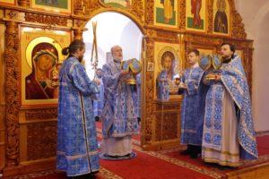 Божественная литургия г. Шадринск. 04.04.2020 г.