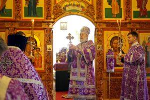 Божественная литургия Василия Великого г. Шадринск. 16.04.2020 г.