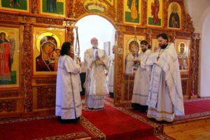 Божественная литургия г. Шадринск 11.04.2020 г.