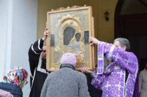 В Шадринск был принесен чтимый список чудотворной иконы Божией Матери «Табынская»