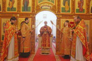 Божественная литургия г. Шадринск. 28.04.2020 г.