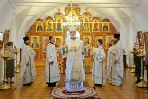 Божественная литургия г. Шадринск. 31.05.2020 г.