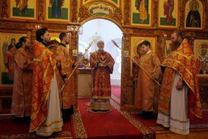 Божественная литургия г. Шадринск 24.05.2020 г.