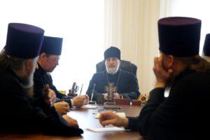 Управляющий Шадринской епархией возглавил собрание благочинных церковных округов