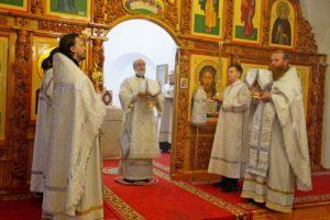 Божественная литургия г. Шадринск. 28.05.2020 г.