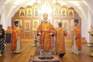Божественная литургия г. Шадринск. 22.05.2020 г.