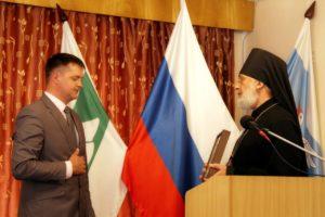Управляющий Шадринской епархией принял участие в торжественной церемонии инаугурации Главы Шадринского района