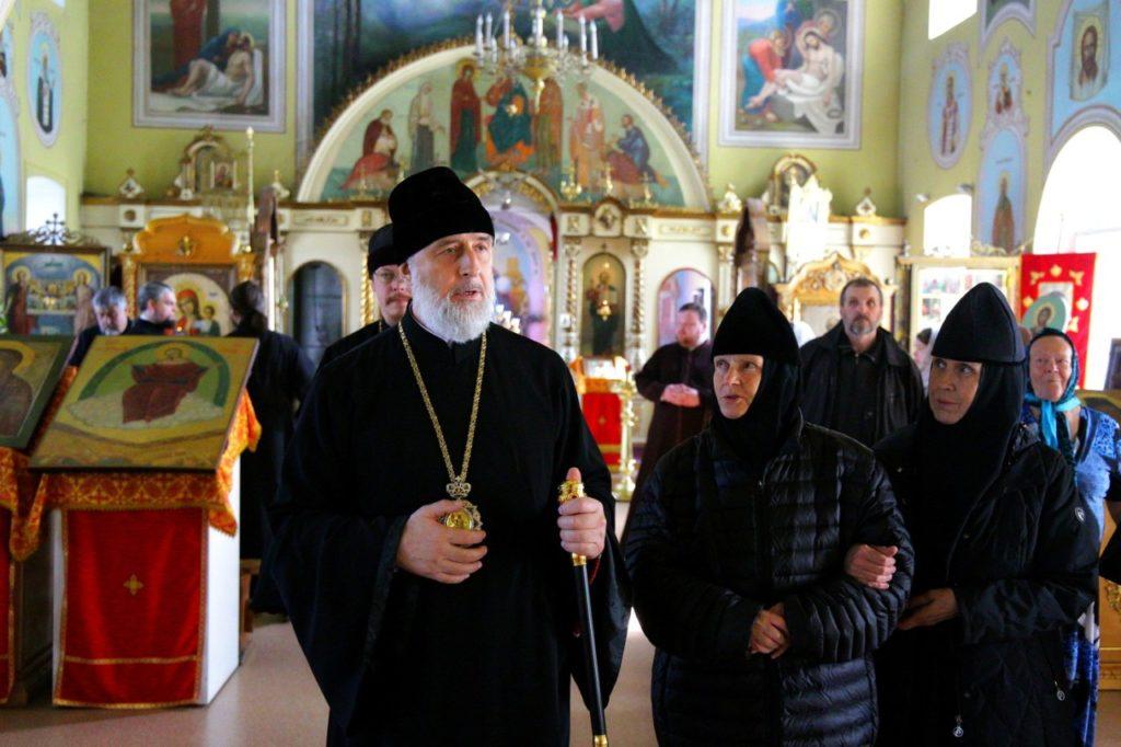Епископ Шадринский и Далматовский Владимир посетил монастырь Похвалы Божией Матери с. Боровское