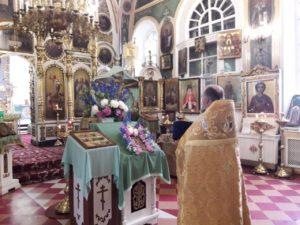 Празднование собора Дивеевских святых отмечено прихожанами храма Воскресения Словущего г. Шадринска